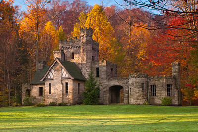 Autumn at Squire's Castle 1