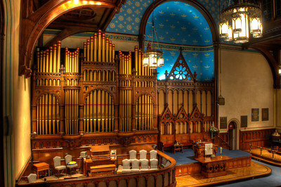 Old Stone Church Organ