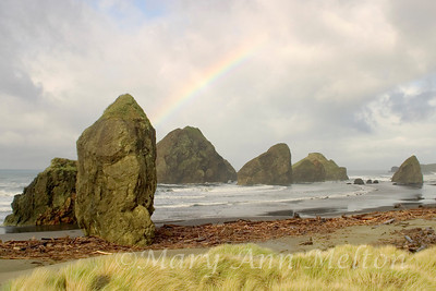 Rainbow over Pistol Beach