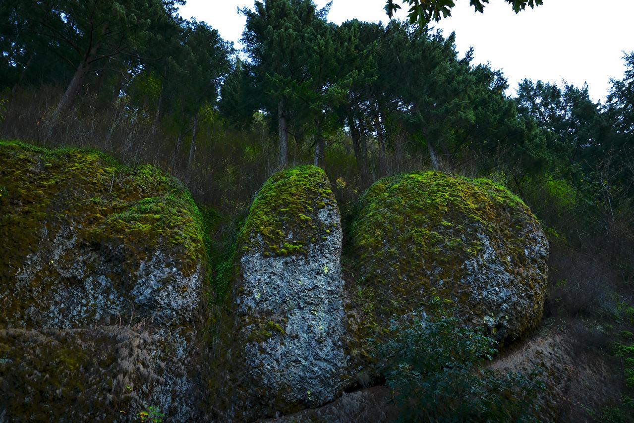 Three Boulders
