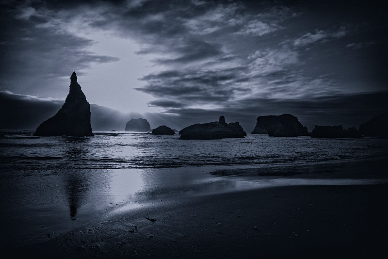Beach Silhouette Cano
