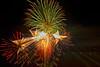 Fireworks Astoria - Oregon long Exposure