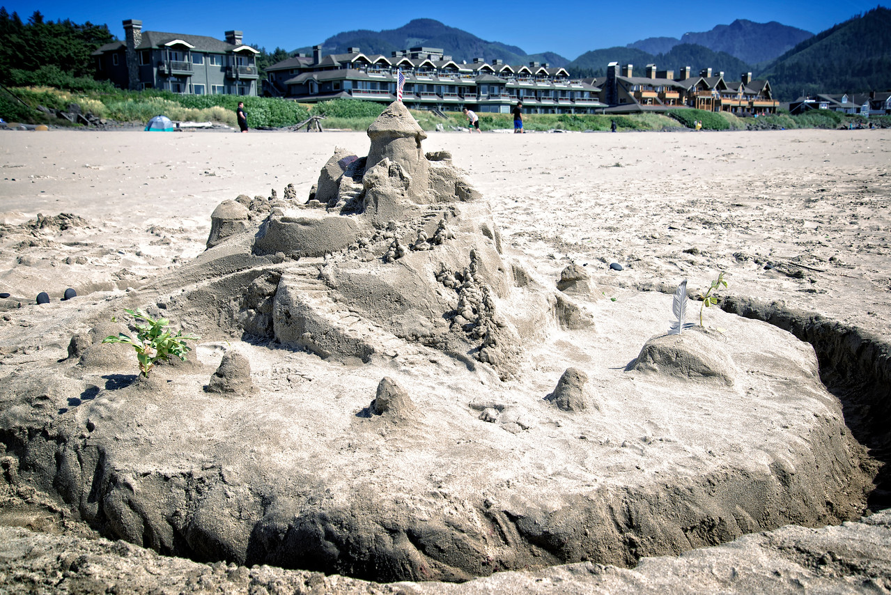 Sand Castle Dream - Cannon Beach