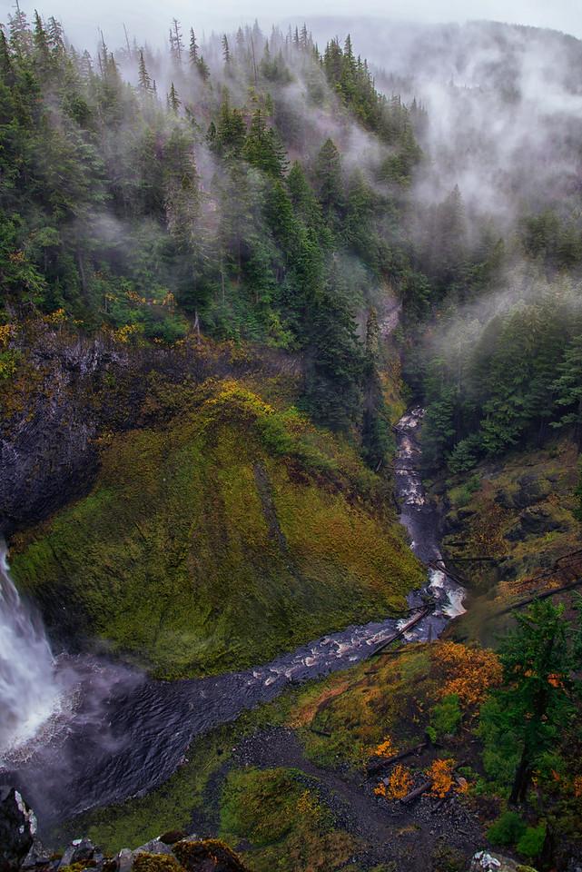 Misty gorge
