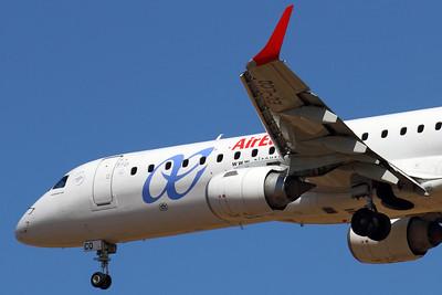 Reg: EC-LCQ Operator: Air Europa Type:  Embraer ERJ-195LR C/n: 19000303 Location:  Palma de Mallorca - Son San Juan (PMI / LEPA), Spain        Photo Date: 10 June 2013 Photo ID: 1300728