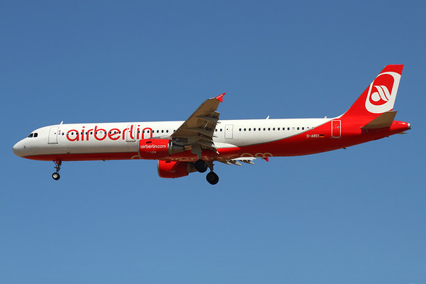 Reg: D-ABCI Operator: Air Berlin Type:  Airbus A.321-211		   C/n: 5038 Location:  Palma de Mallorca - Son San Juan (PMI / LEPA), Spain        Photo Date: 10 June 2013 Photo ID: 1300731