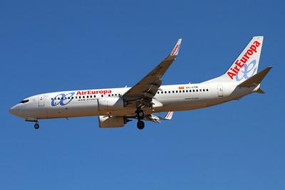 Reg: EC-LTM Operator: Air Europa Type:  Boeing 737-85P/W C/n: 36591 / 4305 Location:  Palma de Mallorca - Son San Juan (PMI / LEPA), Spain        Photo Date: 10 June 2013 Photo ID: 1300727
