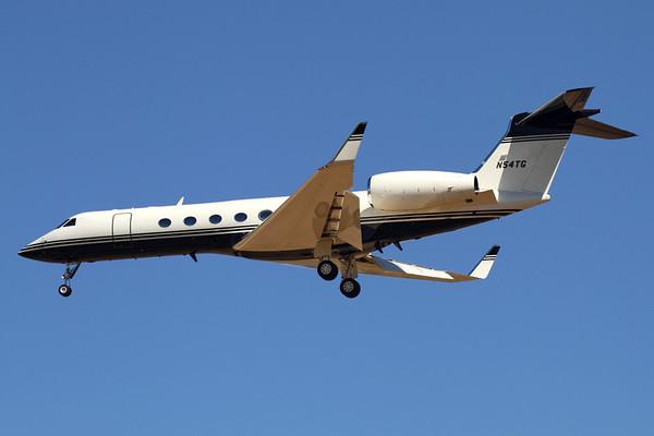 Reg: N54TG Type:  Gulfstream Aerospace G-V Gulfstream V C/n: 523 Location:  Palma de Mallorca - Son San Juan (PMI / LEPA), Spain        Photo Date: 10 June 2013 Photo ID: 1300734