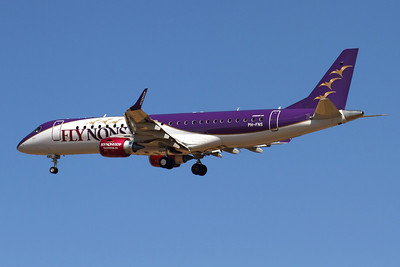 Reg: PH-FNS Operator: FlyNonstop (Denim Air) Type:  Embraer ERJ-190-100LR		   C/n: 19000616 Location:  Palma de Mallorca - Son San Juan (PMI / LEPA), Spain        Photo Date: 10 June 2013 Photo ID: 1300685