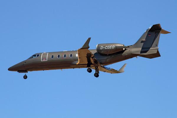 Reg: D-CGEO Type:  Bombardier Learjet 60 C/n: 60-160 Location:  Palma de Mallorca - Son San Juan (PMI / LEPA), Spain        Photo Date: 10 June 2013 Photo ID: 1300733