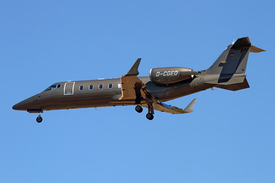 Reg: D-CGEO Type:  Bombardier Learjet 60		   C/n: 60-160 Location:  Palma de Mallorca - Son San Juan (PMI / LEPA), Spain        Photo Date: 10 June 2013 Photo ID: 1300733