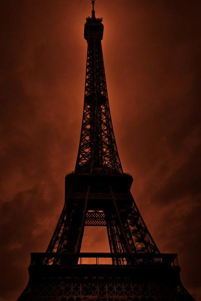 Eiffel Tower - orange feeling :-)