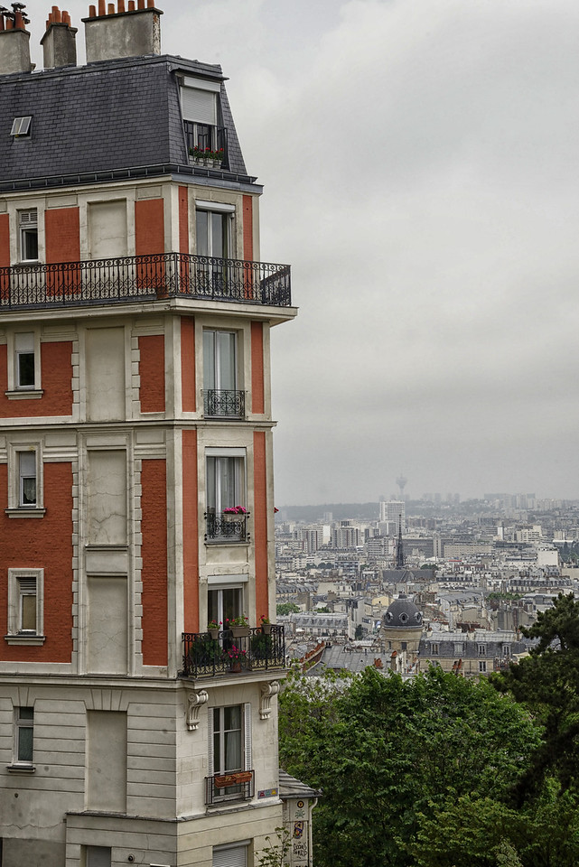 View away from top of Montmartre