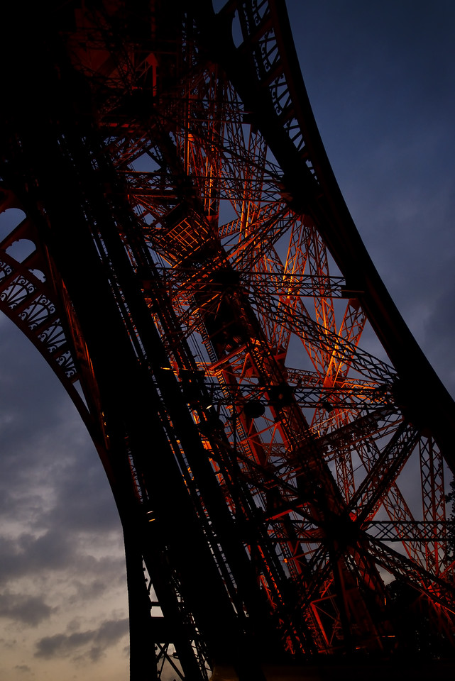 Eiffel Tower Nightfall