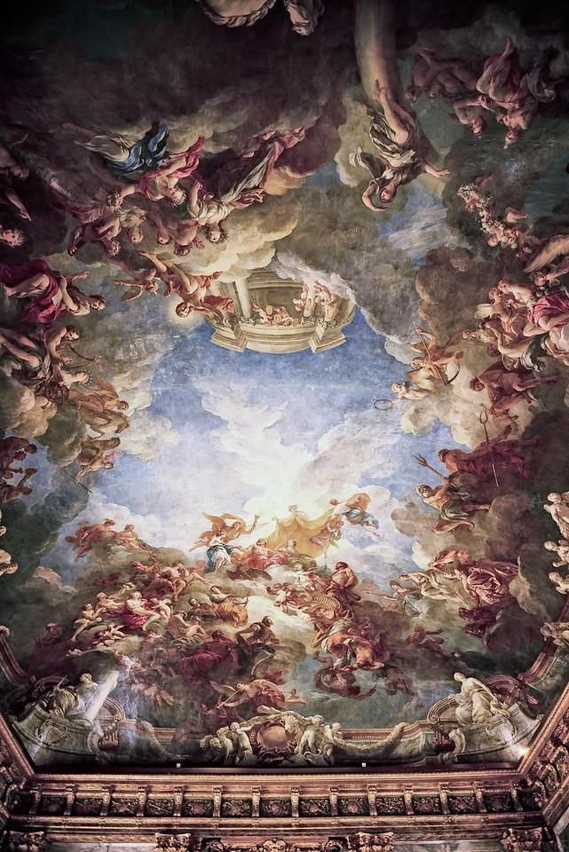 Heaven fresco