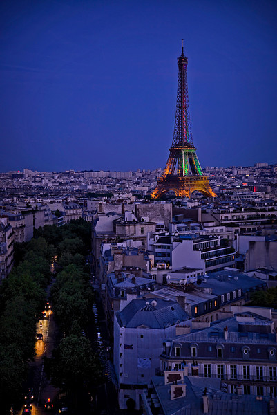 Eiffel after dusk