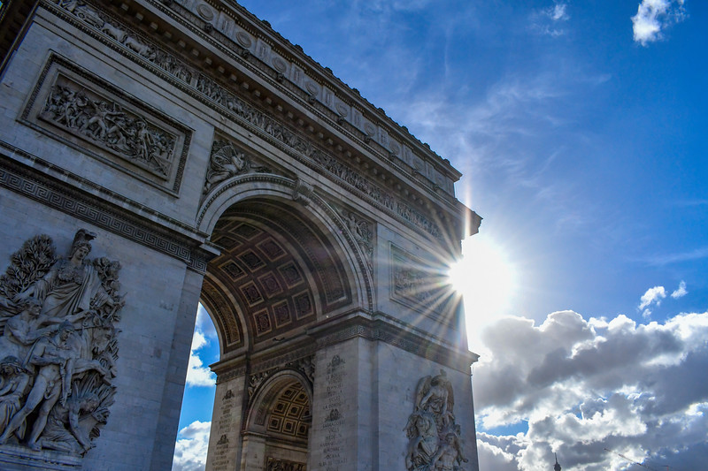 Arc de Triopmphe - Center Arc