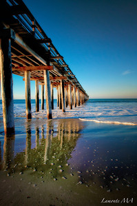 Morning under Cayucos Pier