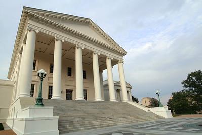State Capitol In Richmond, Virginia