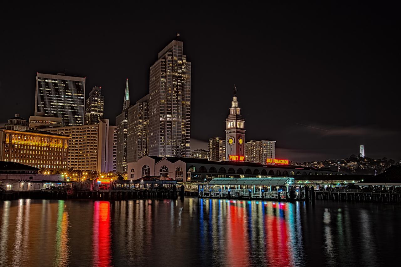 Port of San Francisco - Long exposure