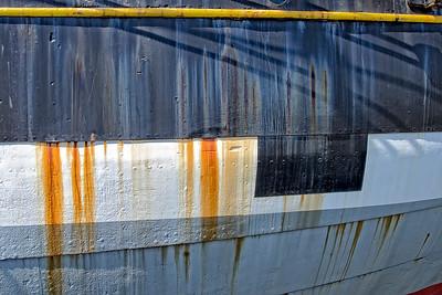 Vintage Iron ship hull - Weatering