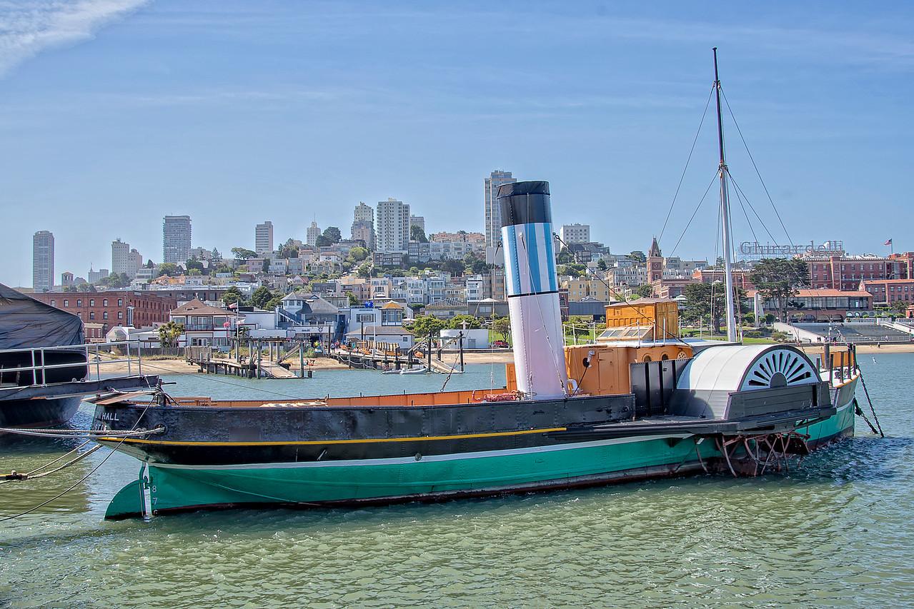 Vintage Steam ship
