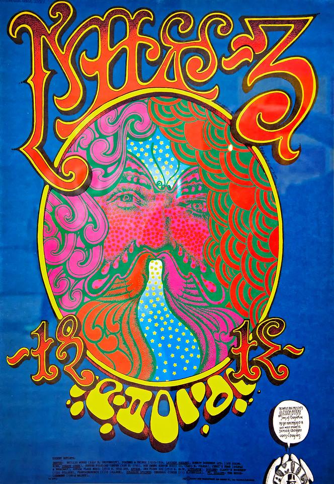 1967 Music Poster - Chuck Berry