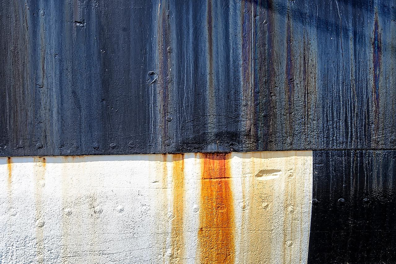 Iron ship Hull