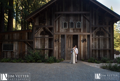 Monique & Joe at the Sequoia Retreat Center in Ben Lomond California