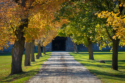 Breeding Barn Entrance