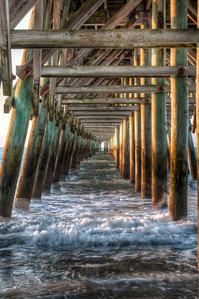 Under the Pier-Portrait