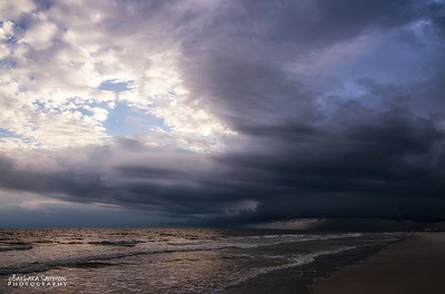 Storm is on its way - Yaupon Beach, Oak Island, NC
