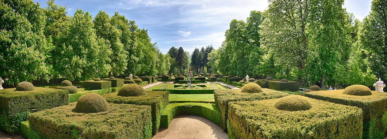 Segovia Summer Palace Gardens