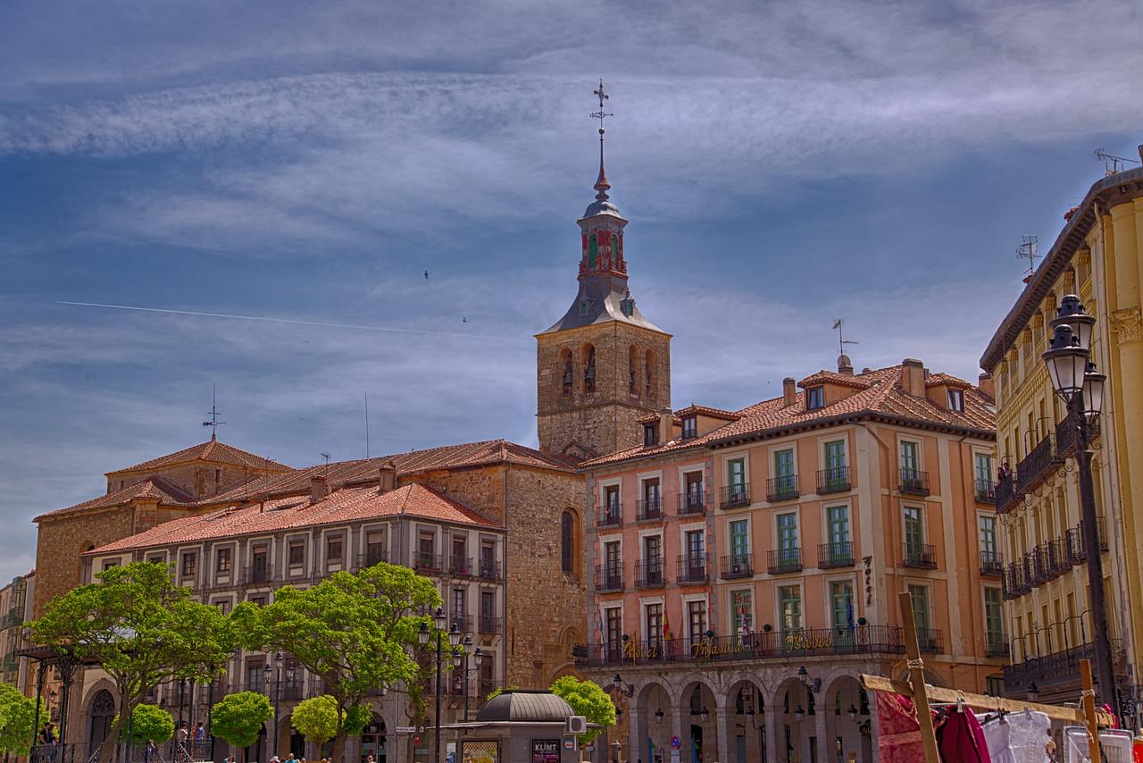 Segovia Town square
