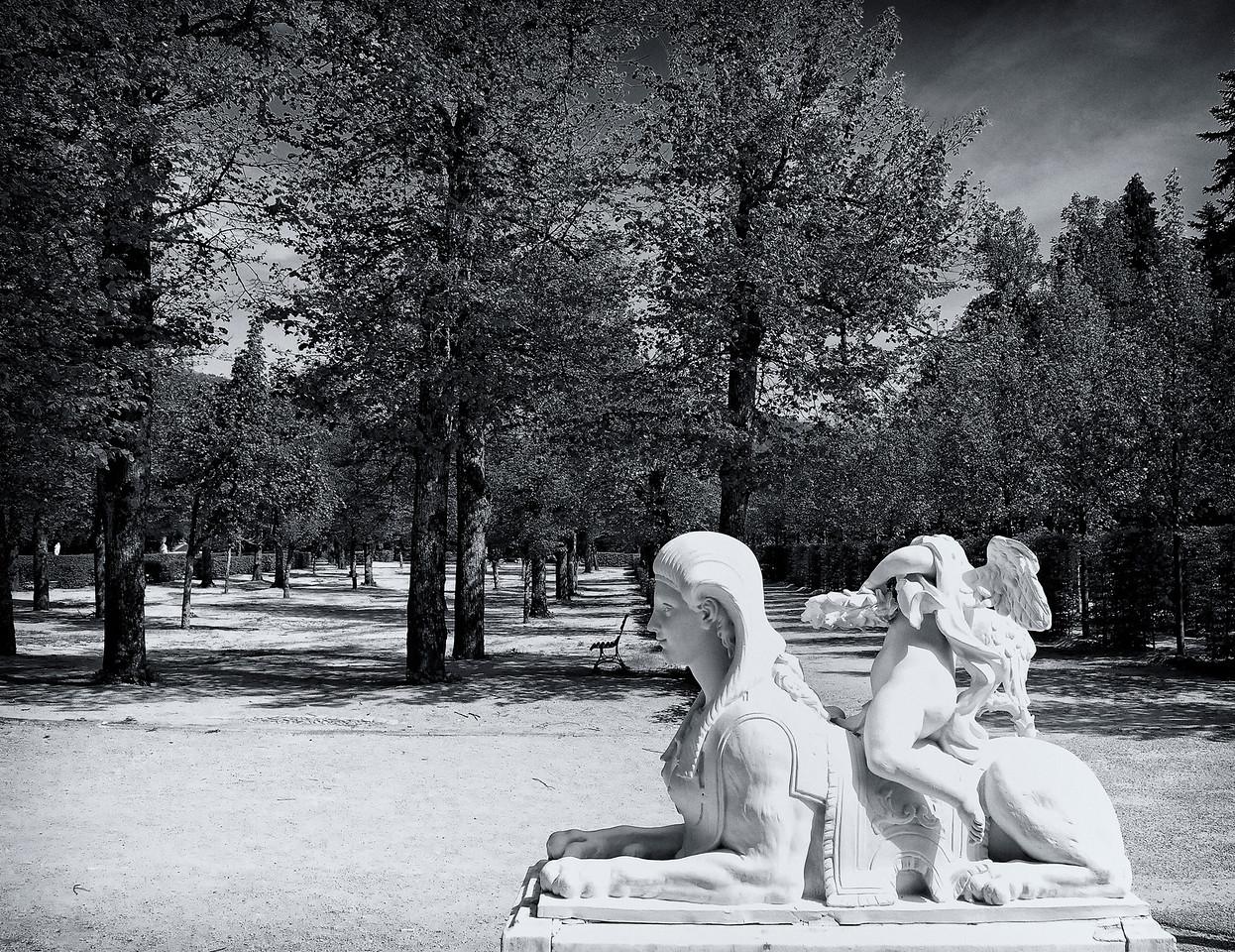 Sphinx Gardens4 B & W