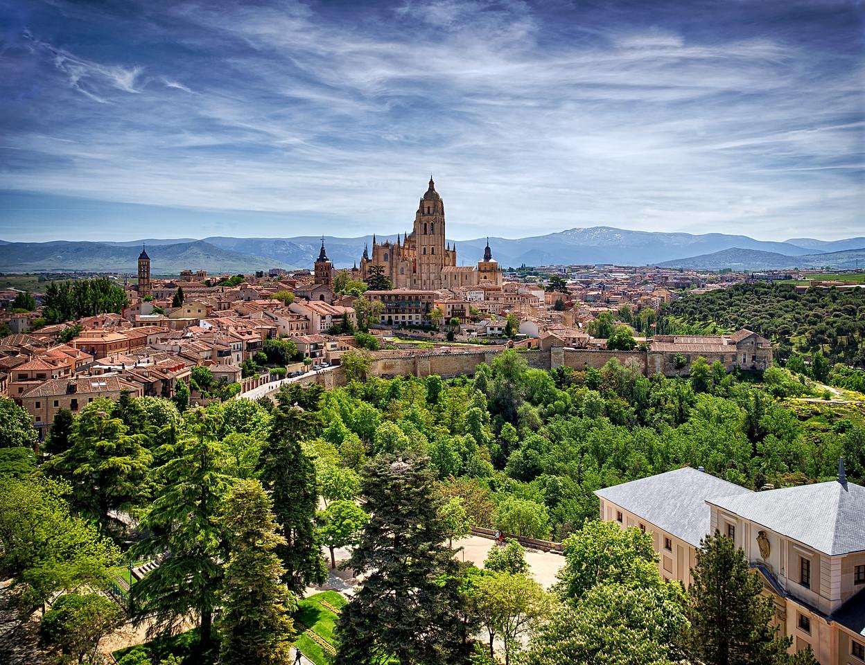 Segovia Castle View