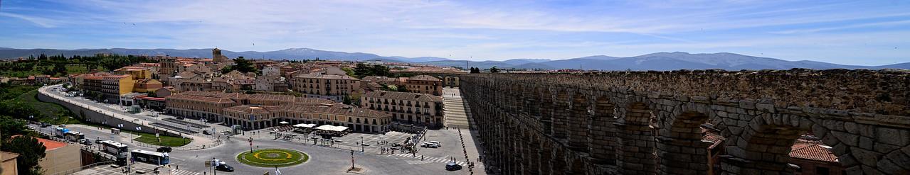 Old Segovia  Aqueduct Pano