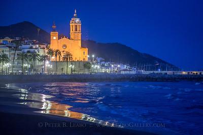 20150301-191722 Sitges, Spain - Eglesia de Sant Bartolomé i Santa Tecla