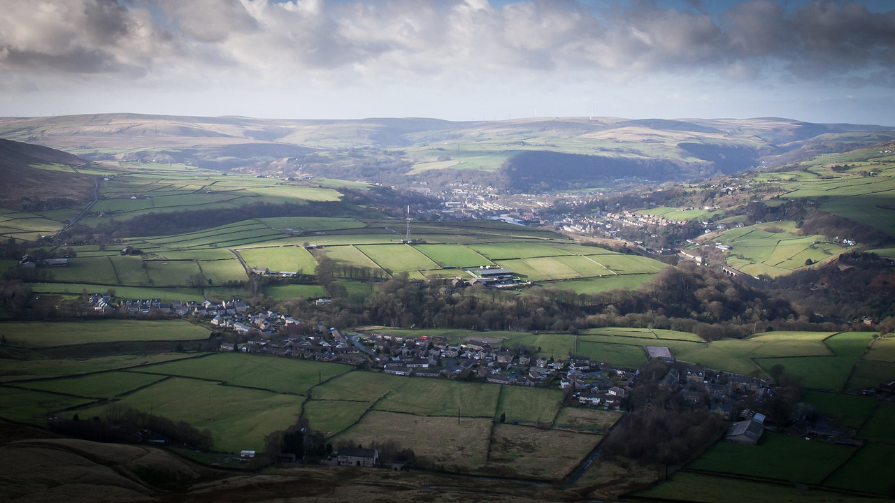 Todmorden From Stoodley