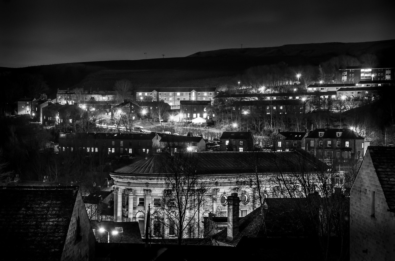 Town Hall & Todmorden At Night