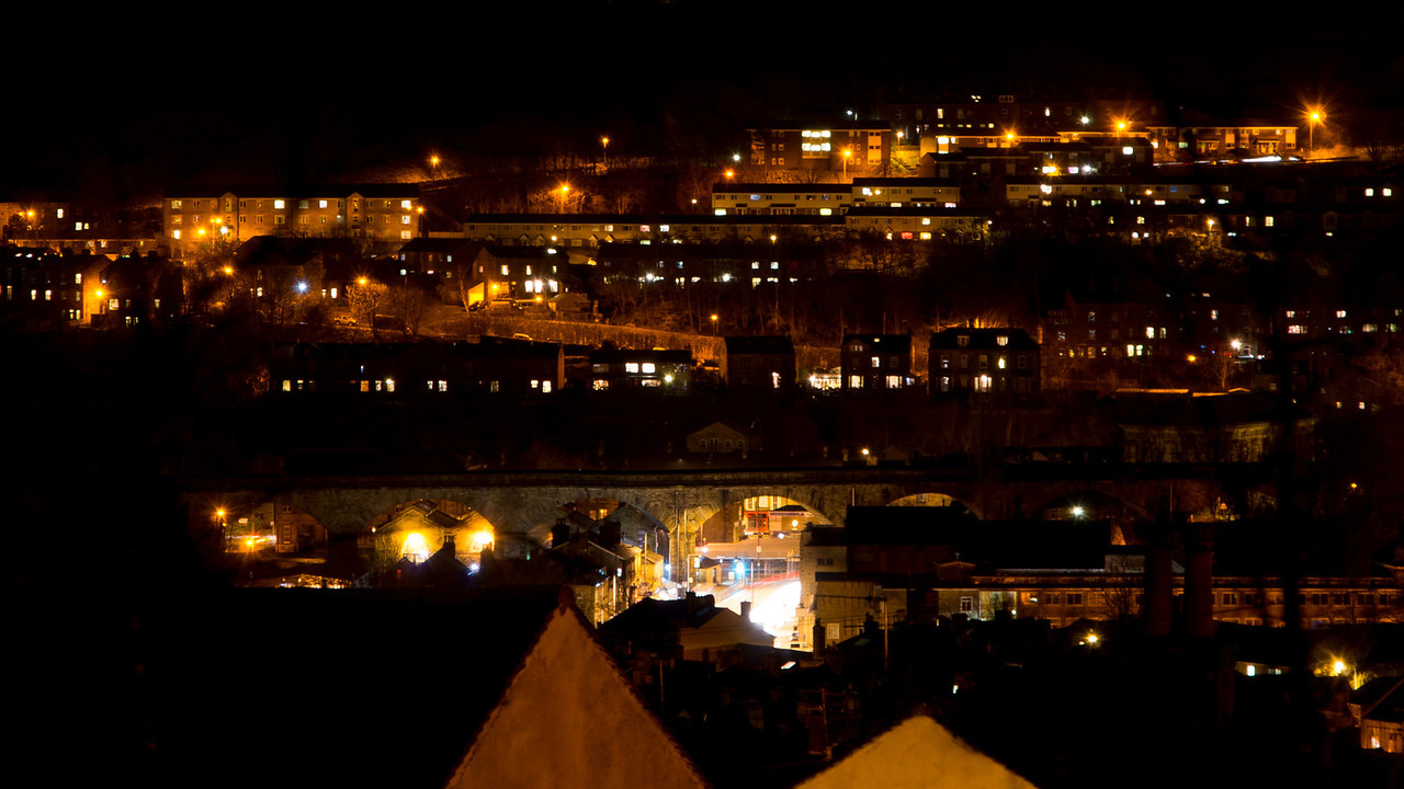 Todmorden At Night