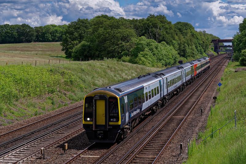 159010 / 159019: 11:20 Waterloo - Exeter St Davids. 6th June 2019.
