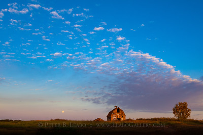 Harvest Moonset