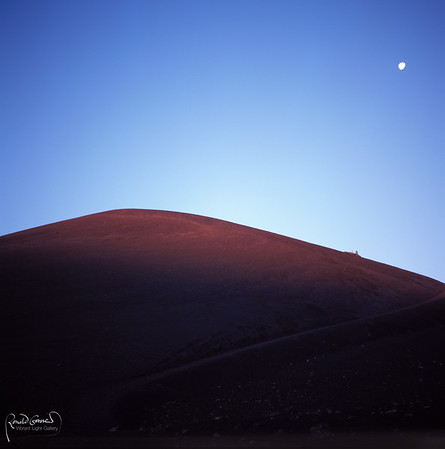 Sunrise over Cinder Dome
