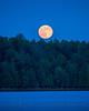 Moonrise Over Long Lake