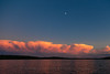 20140706-205902 WI Long Lake sunset moonrise
