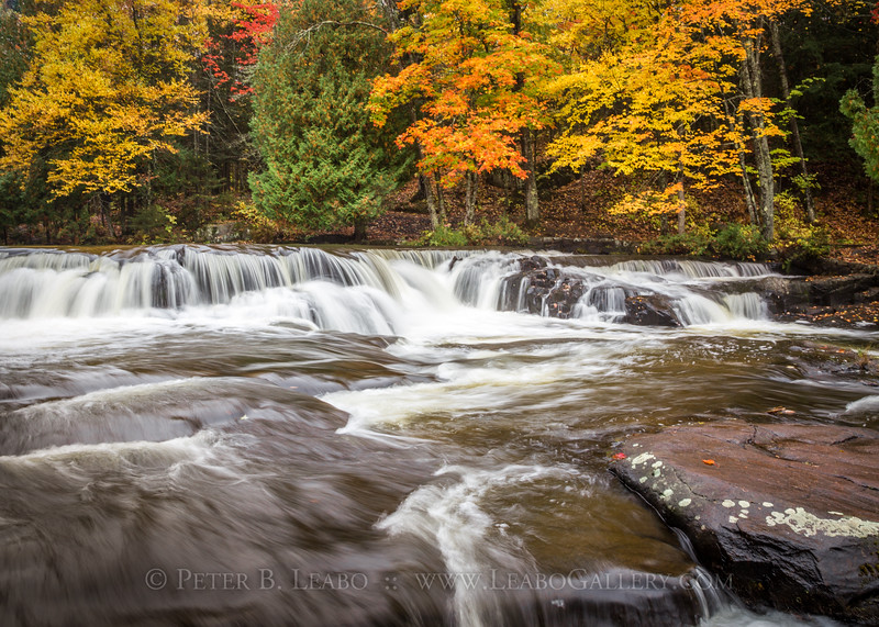 Fall Color at Bond Falls