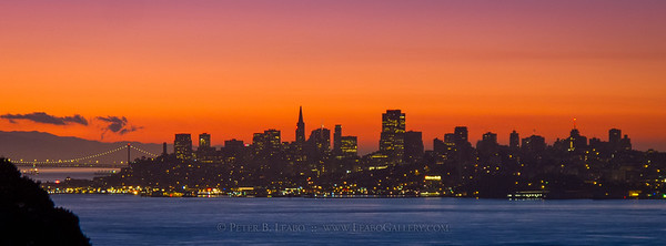 San Francisco Dawn Skyline