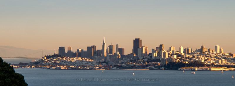 San Francisco Evening Skyline