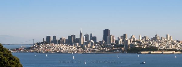 San Francisco Midday Skyline